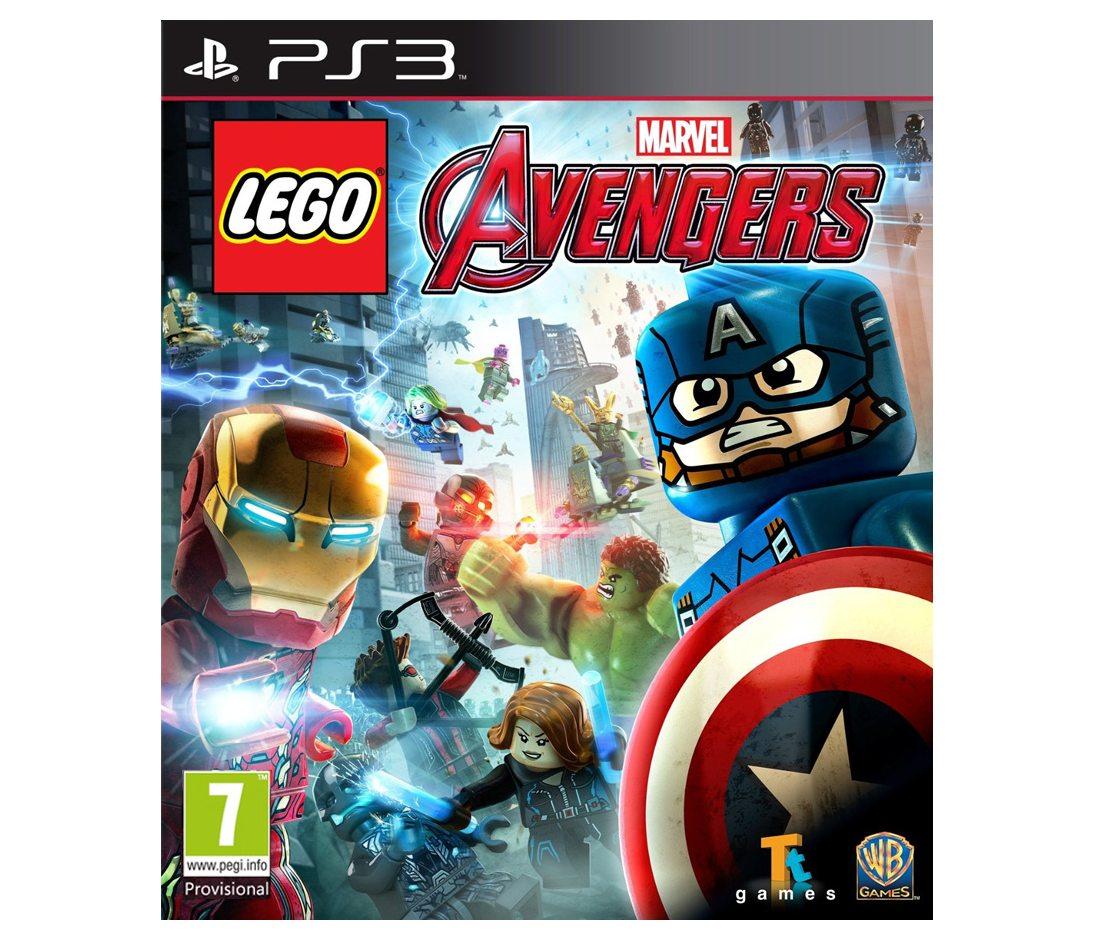 PS3 LEGO Marvel's Avengers (LEGO Marvel Мстители) PS3