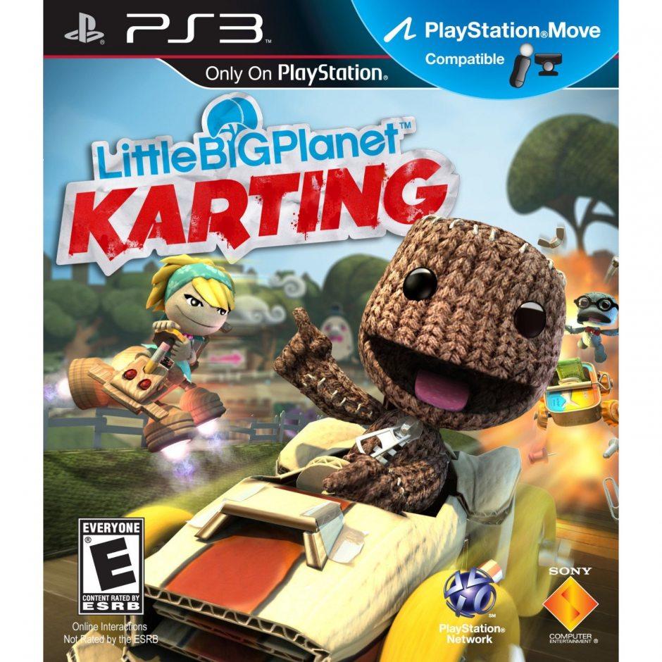 PS3 LittleBigPlanet Karting (LittleBigPlanet Картинг) PS3