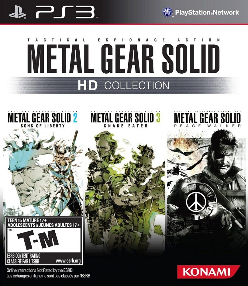PS3 Metal Gear Solid HD Collection PS3