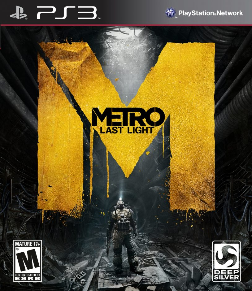 PS3 Metro: Last Light (Метро: Луч надежды) PS3