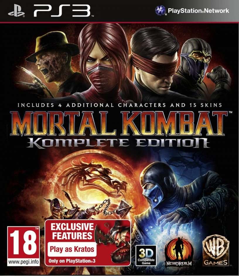 PS3 Mortal Kombat. Komplete Edition PS3