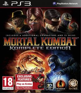 PS3 Mortal Kombat. Komplete Edition