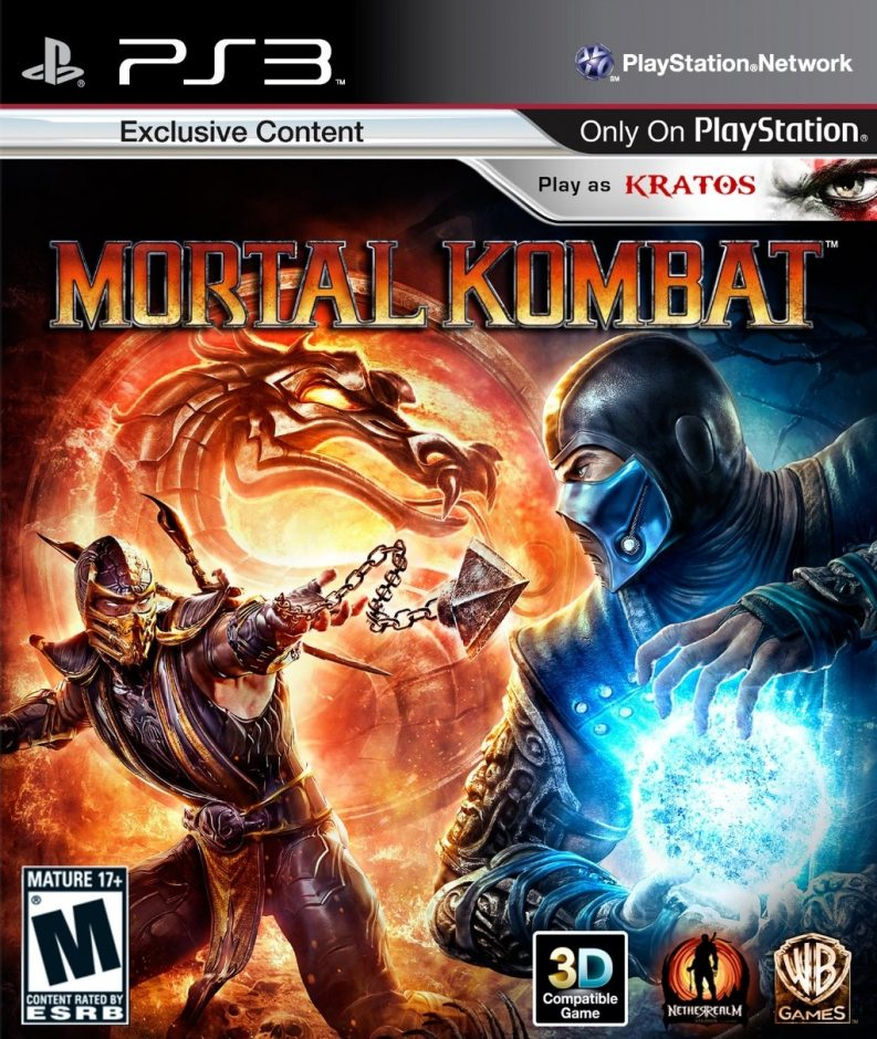 PS3 Mortal Kombat PS3