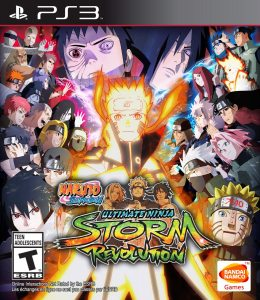 PS3 Naruto Shippuden Ultimate Ninja Storm Revolution