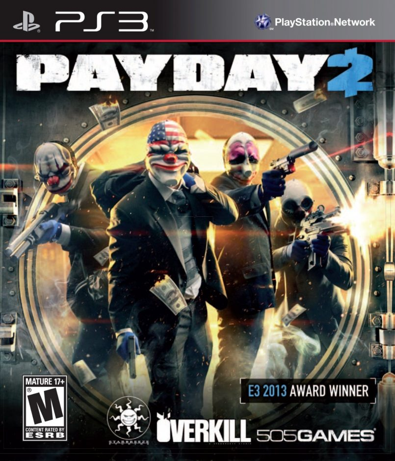 PS3 Payday 2 PS3