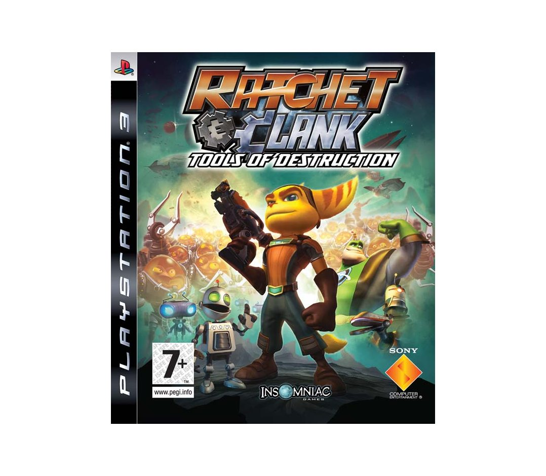 PS3 Ratchet and Clank Future: Tools of Destruction PS3