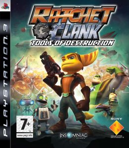 PS3 Ratchet and Clank Future: Tools of Destruction