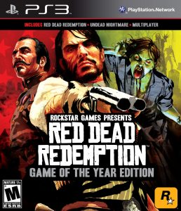 PS3 Red Dead Redemption. Game of the Year Edition