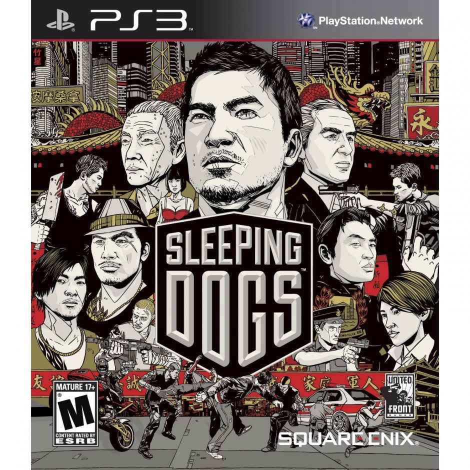 PS3 Sleeping Dogs PS3