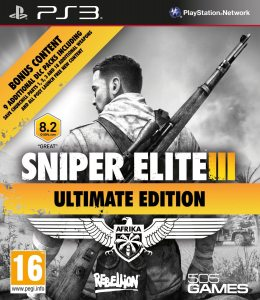 PS3 Sniper Elite III Ultimate Edition