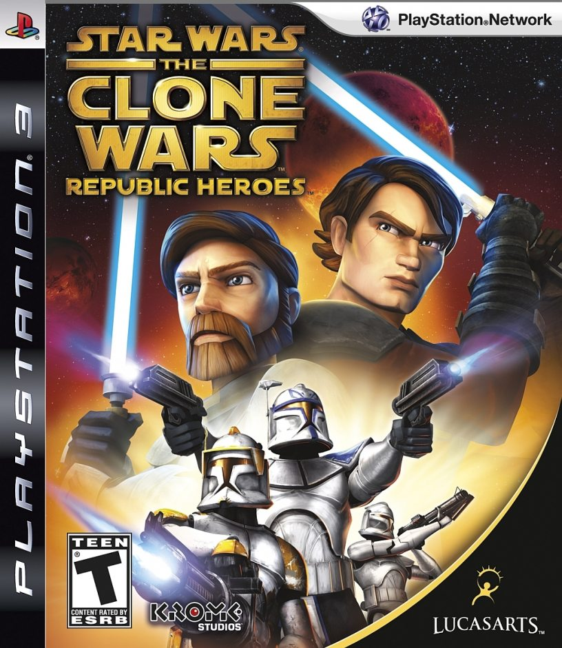 PS3 Star Wars: The Clone Wars - Republic Heroes PS3