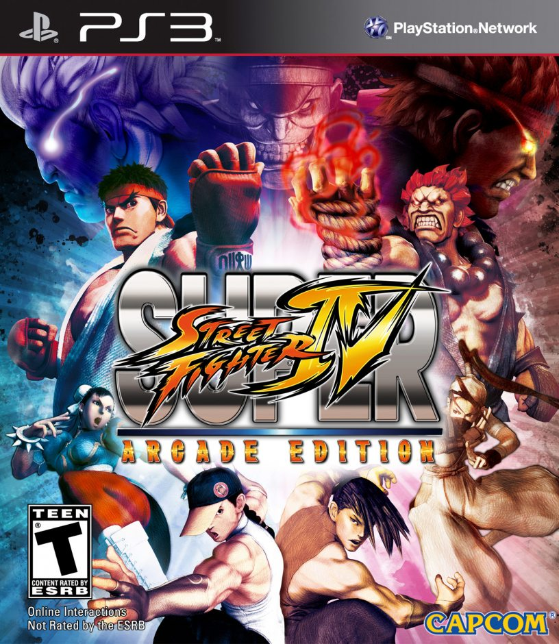 PS3 Super Street Fighter IV Arcade Edition PS3