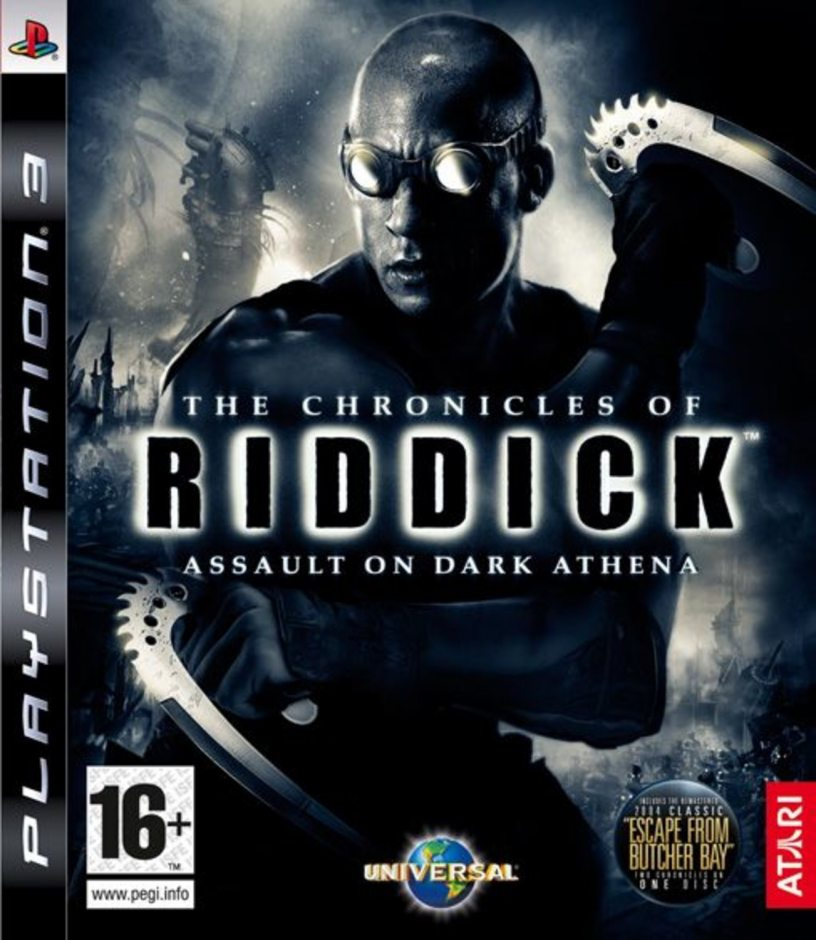 PS3 The Chronicles of Riddick: Assault on Dark Athena PS3