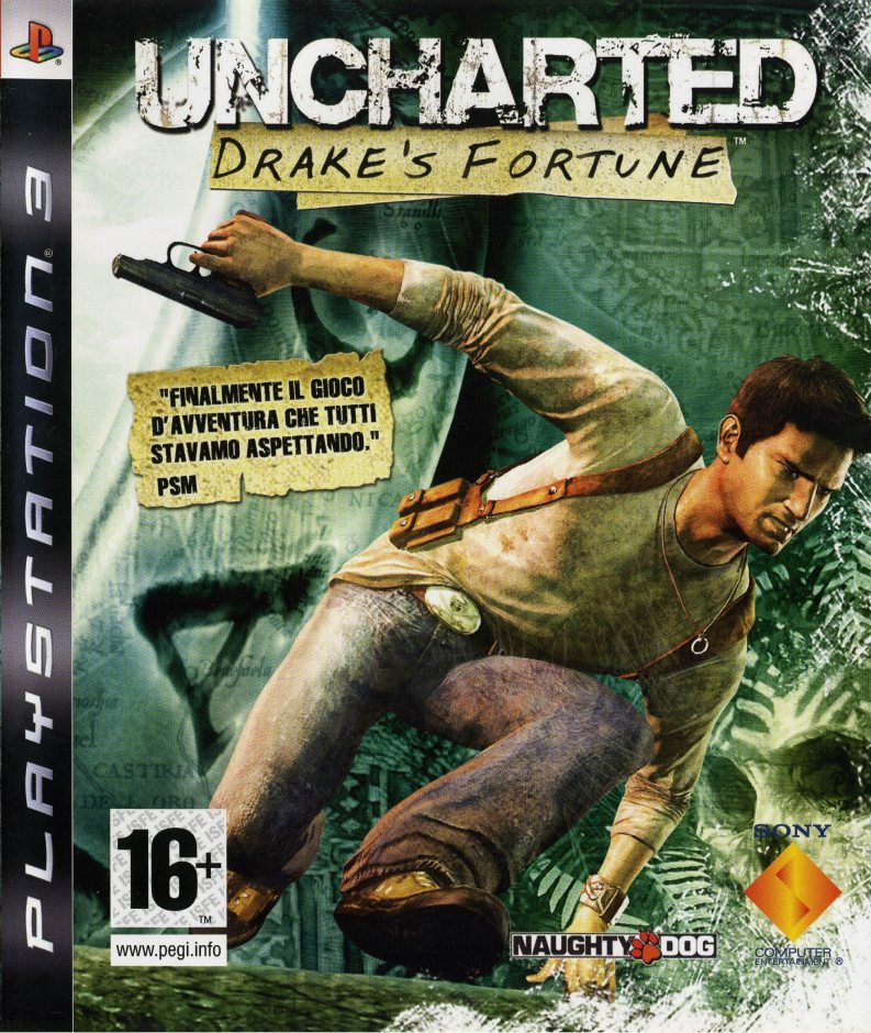 PS3 Uncharted: Drake's Fortune PS3