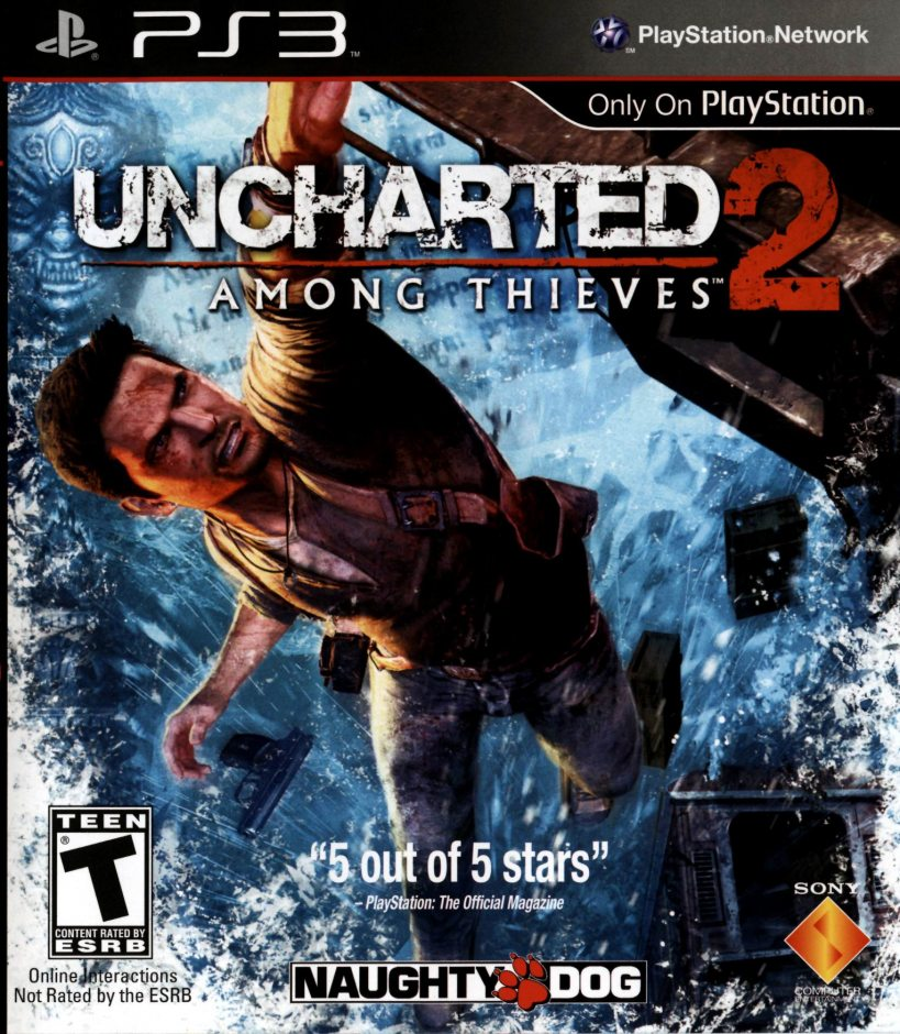 PS3 Uncharted 2: Among Thieves PS3