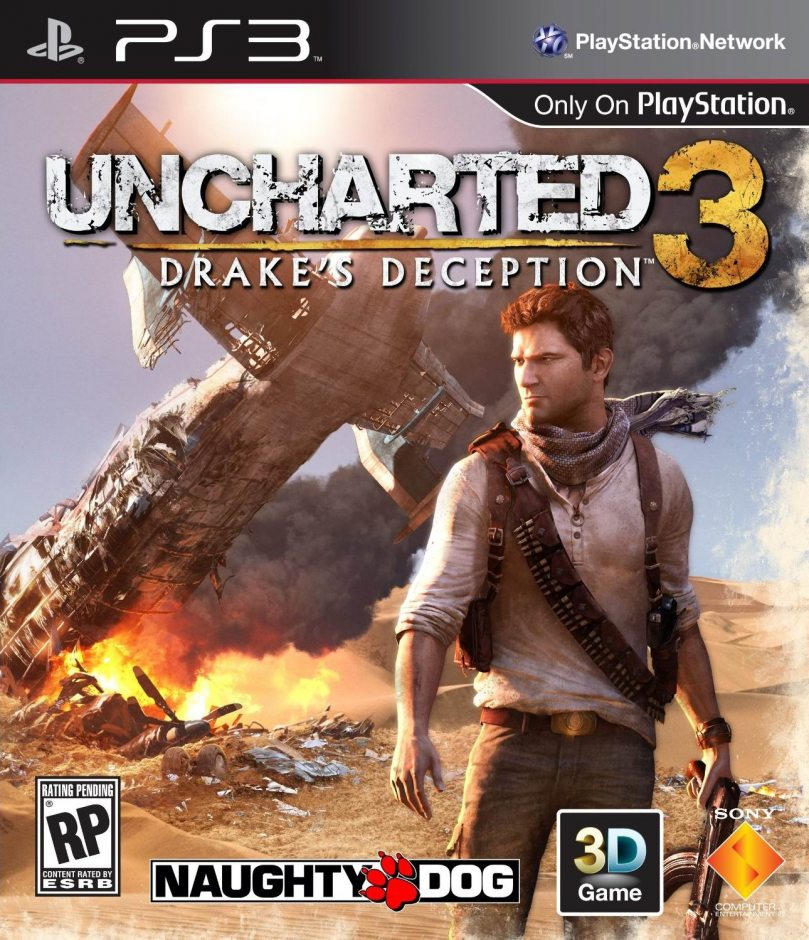 PS3 Uncharted 3: Drake's Deception PS3