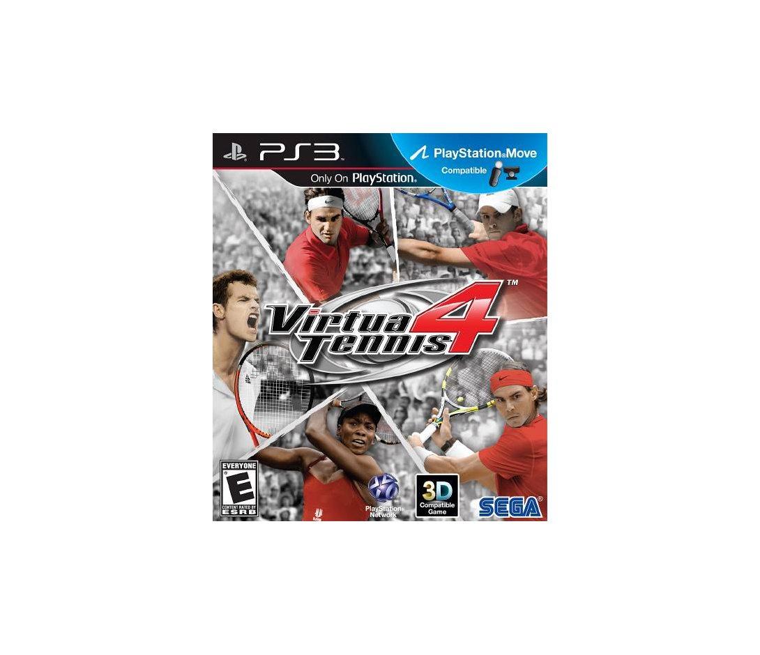 PS3 Virtua Tennis 4 PS3