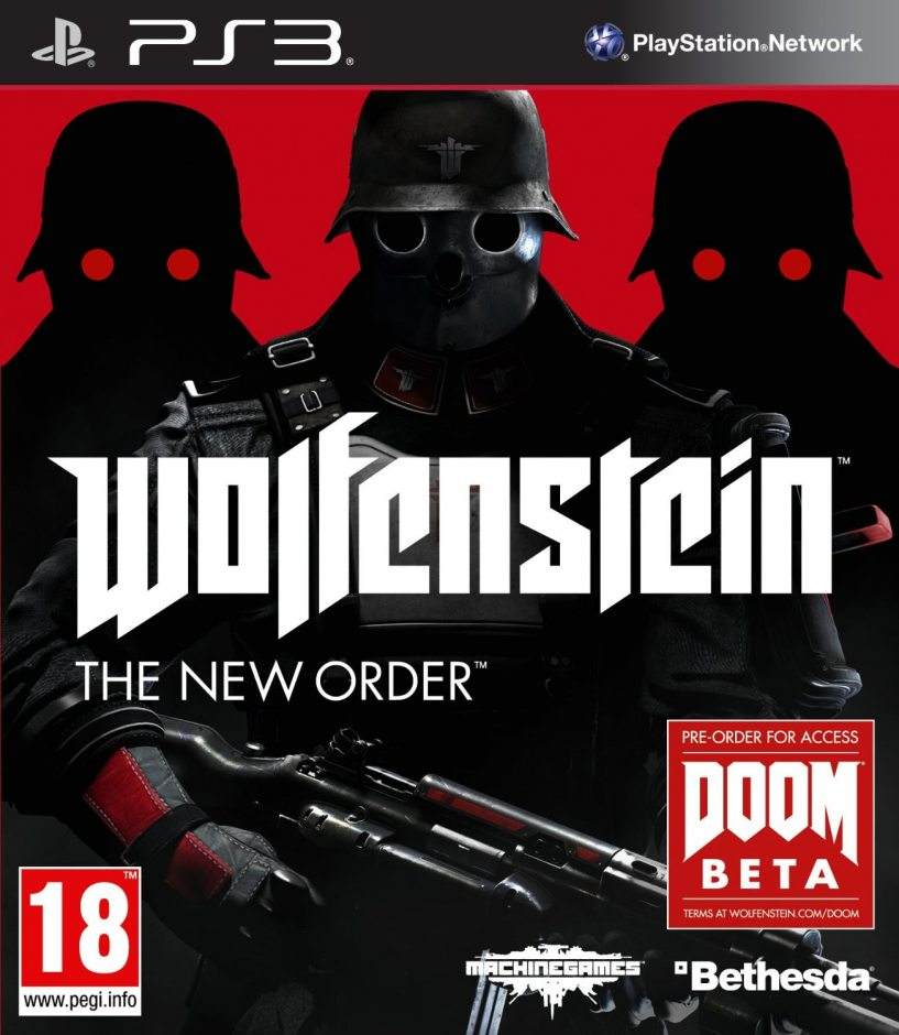 PS3 Wolfenstein: The New Order PS3
