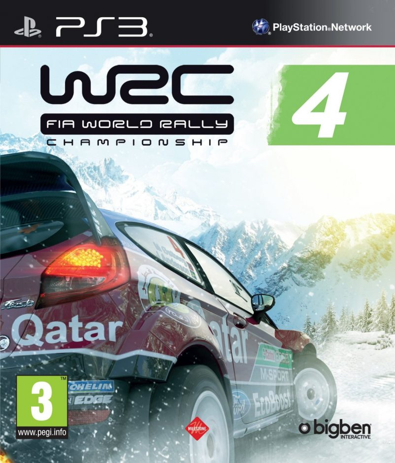 PS3 WRC FIA World Rally Championship 4 PS3