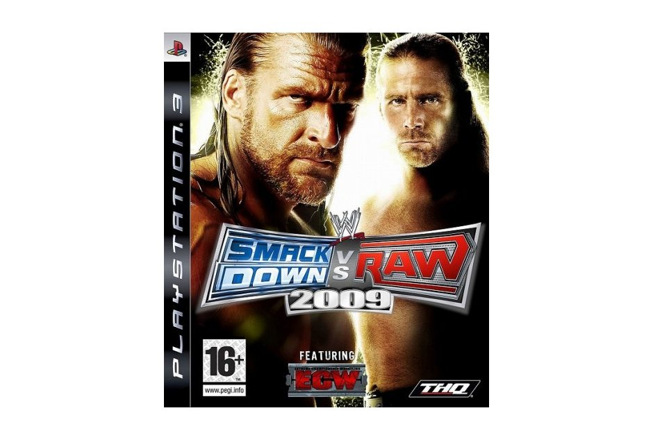 PS3 WWE SmackDown vs. RAW 2009 PS3