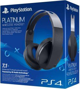 Беспроводная гарнитура Platinum для PS4 (черная)