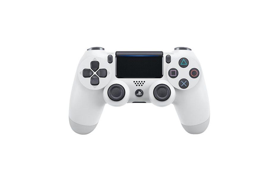 Геймпад DualShock 4 для PS4 беспроводной Glacier White (белый)