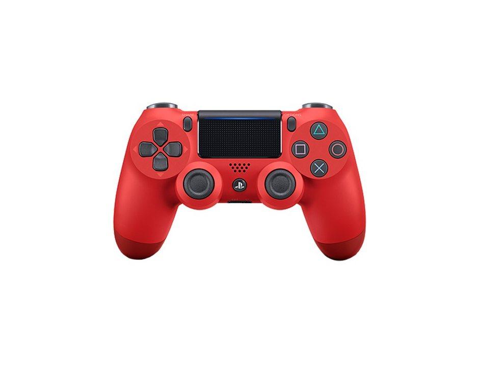 Геймпад DualShock 4 для PS4 беспроводной Magma Red (красный)