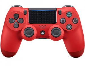 Геймпад DualShock 4 для PS4 беспроводной Magma Red (красный)