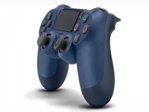 Геймпад DualShock 4 для PS4 беспроводной Midnight Blue (полуночный синий)