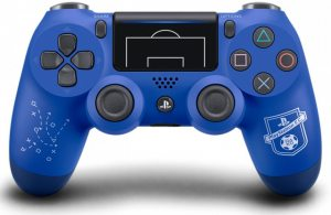 Геймпад DualShock 4 для PS4 беспроводной PlayStation F.C. (синий)