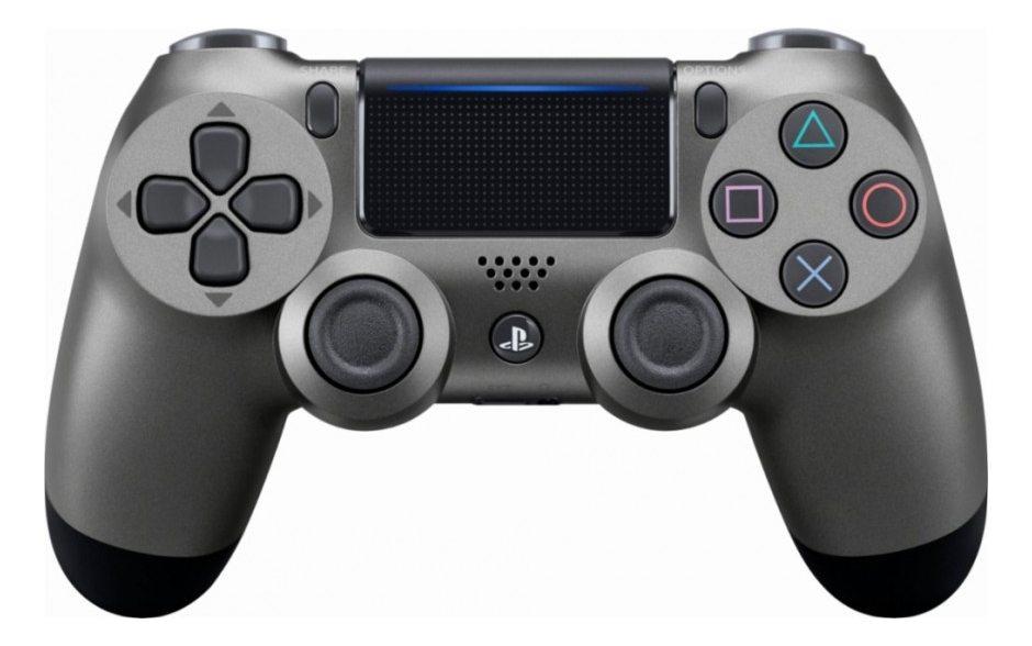 Геймпад DualShock 4 для PS4 беспроводной Steel Black (черный стальной)