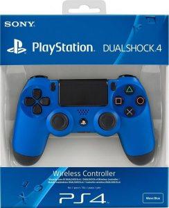 Геймпад DualShock 4 для PS4 беспроводной Wave Blue (синий)
