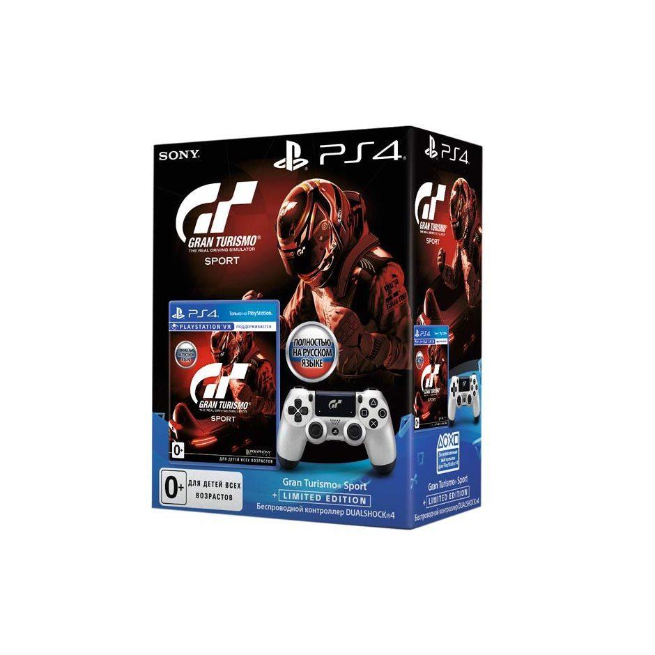Геймпад Dualshock 4 и Gran Turismo Sport Limited Edition