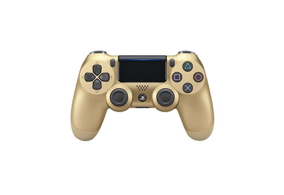 Геймпад DualShock 4 Cont Gold для PS4 (золотой)