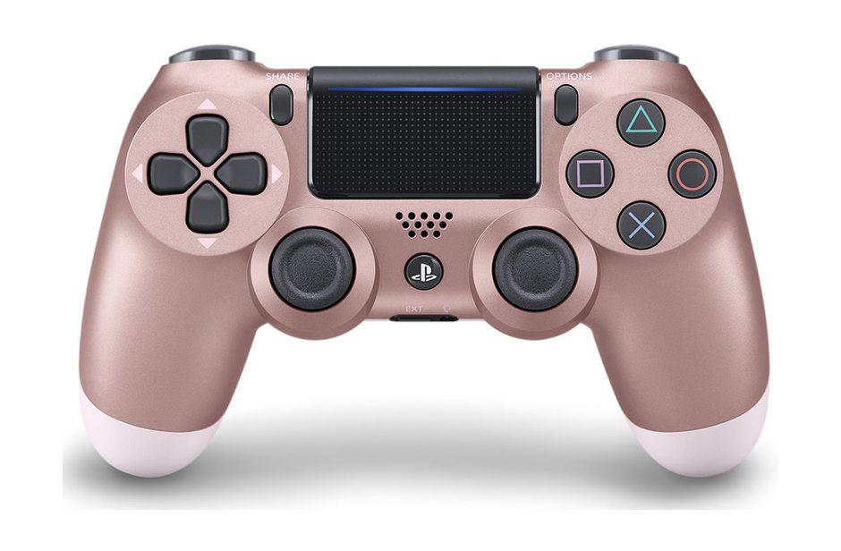 Геймпад DualShock 4 Cont Rose Gold беспроводной для PS4