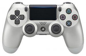 Геймпад DualShock 4 Cont Silver для PS4 (серебряный)