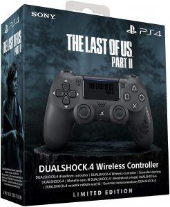 Геймпад DualShock 4 The Last Of Us: Part II беспроводной для PS4 (черный, матовое покрытие)