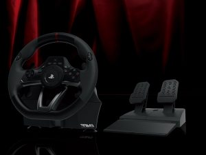 Гоночный руль Hori Racing Wheel Apex для PS4