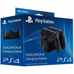 Зарядная станция DualShock 4 Charging Station на два геймпада для PS4