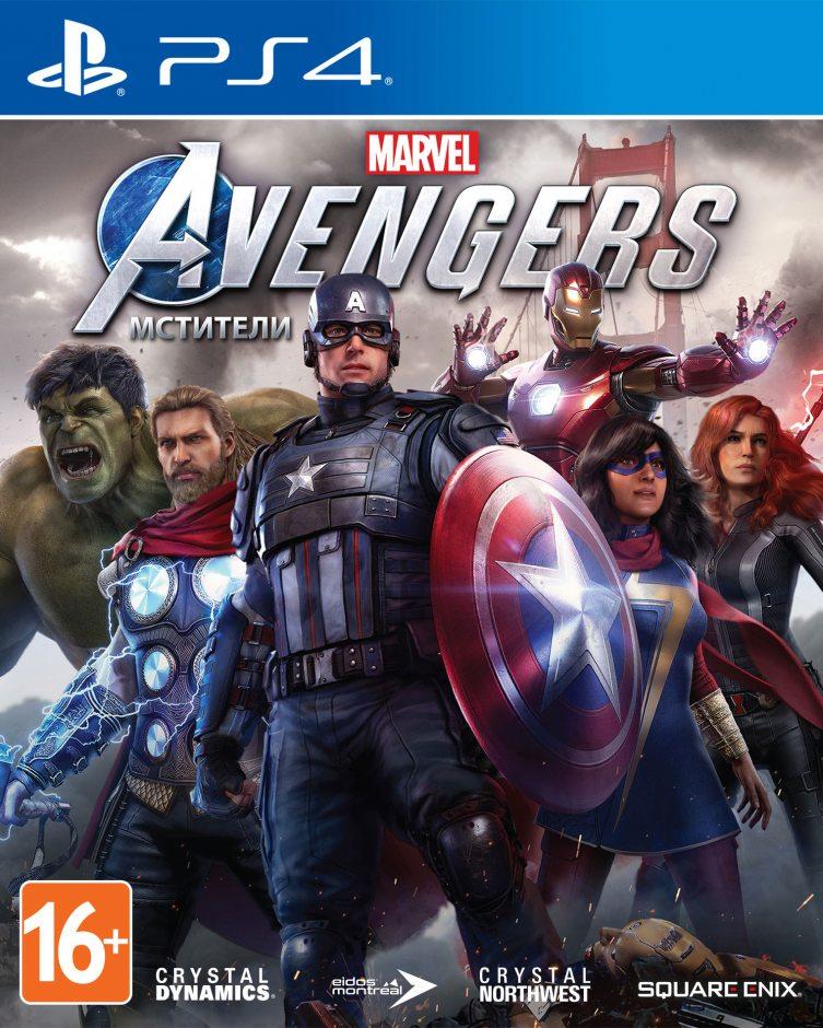 PS 4 Мстители Marvel PS 4