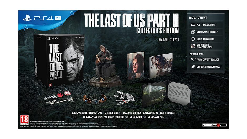 PS 4 Одни из нас: Часть II. Collectors Edition PS 4