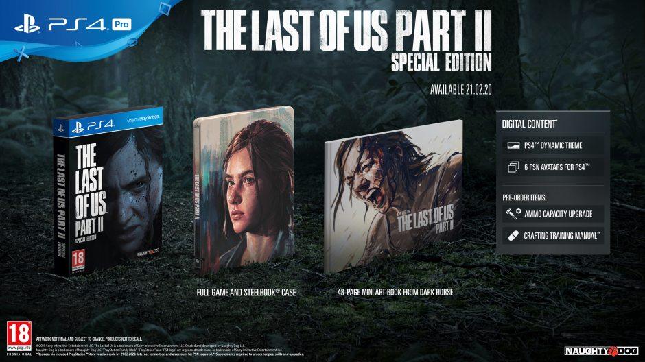 PS 4 Одни из нас: Часть II. Special Edition PS 4