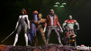 PS 4 Стражи Галактики Marvel. Издание Cosmic Deluxe PS 4