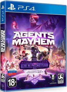 PS 4 Agents of Mayhem. Издание первого дня