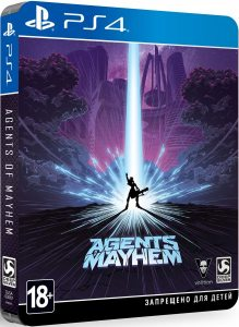 PS 4 Agents of Mayhem. Steelbook Edition