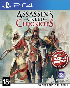 PS 4 Assassin's Creed Chronicles: Трилогия (Trilogy Pack)