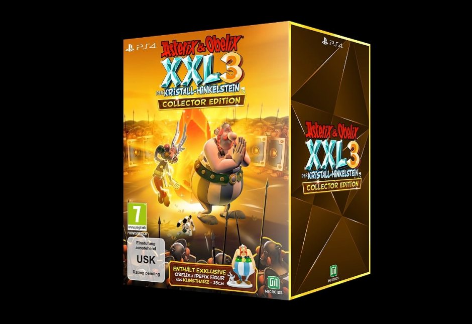 PS 4 Asterix and Obelix XXL 3 - The Crystal Menhir Коллекционное издание PS 4