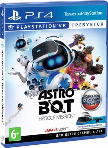 PS 4 Astro Bot Rescue Mission