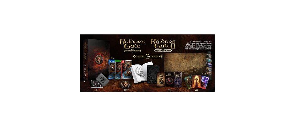 PS 4 Baldur's Gate: Enhanced Edition и Baldur's Gate II: Enhanced Edition PS 4