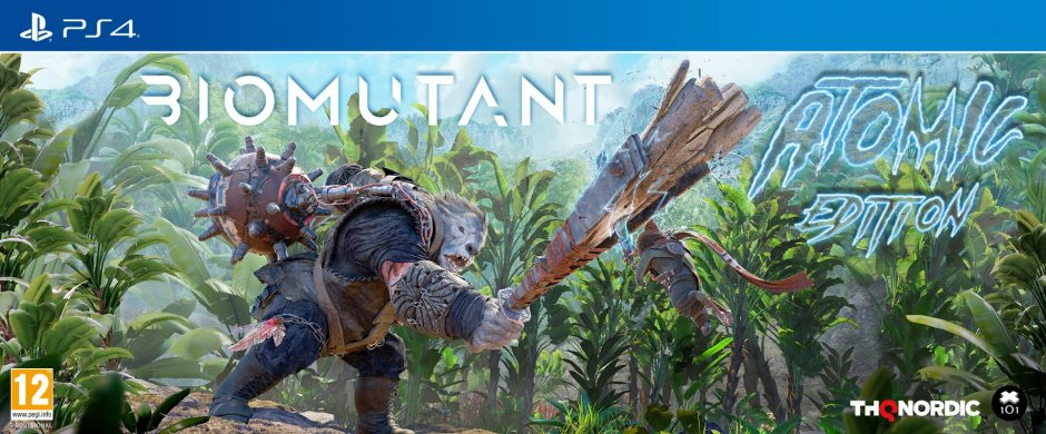 PS 4 Biomutant Atomic Edition PS 4